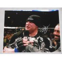 "BROCK LESNAR HUGE Hand Signed 16""x20"" Photo + PSA DNA  Sticker Only"