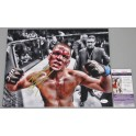 Nate Diaz UFC196 Hand Signed 11'x14' Photo 2 UFC + JSA COA