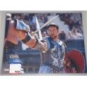 "Russell Crowe 'Gladiator' Hand Signed 16"" x 24"" Colour Photo  + PSA DNA COA"