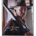 "John Jarratt ' Wolf Creek ' Mick Taylor  Hand Signed 8"" x 10"" Colour Photo3 + COA"