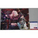 "Twisted Sister Dee Snider Hand Signed 8""x10"" Photo + PSA DNA COA"
