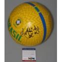 RONALDINHO Hand Signed Brazil Soccer Ball + PSA/DNA