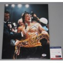 "Sylvester Stallone Rocky   Hand Signed 11""x 14"" Photo + PSA/DNA COA"