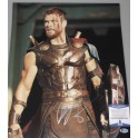 "Chris Hemsworth Hand Signed 16"" x 20"" Colour Photo  + PSA DNA COA"