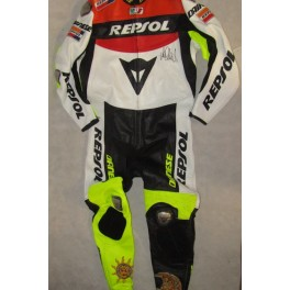 VALENTINO ROSSI Hand Signed Fullsize Racing Suit / Leathers  + Exact Proof