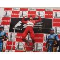 "Michael Schumacher Hand Signed 20""x30""  Colour Photo 2 + COA"