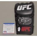 Dustin Poirier  Hand Signed UFC 4oz  Glove + PSA DNA COA
