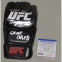 JORGE MASVIDAL Gamebred  Hand Signed UFC 4oz  Glove + PSA DNA COA