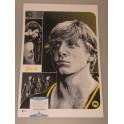"""Cobra Kai  Zabka & Cove  Hand Signed 12"""" x 18"""" Colour Photo +  Beckett COA Karate Kid"""