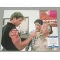 "Cobra Kai  Martin Cove  Hand Signed 11"" x 14"" Colour Photo +  Beckett COA Karate Kid"