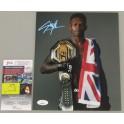 Israel Adesanya Hand Signed 8'x10' Photo 2 UFC + JSA COA