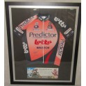 Cadal Evans Hand Signed Ltd Edition Framed 2007  Jersey 32/50 COA Price WaterhouseCoopers