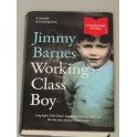 Jimmy Barnes  Hand SIGNED Book ''Working Class Boy