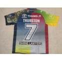 Johnathan Thurston Hand Signed North Queensland Cowboys Tribute Jersey